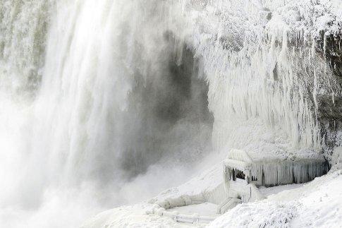 یخ زدن آبشار نیاگارا 1