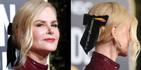 مدل مو,بهترين مدل مو,مدل مو در گلدن گلوب,بهترين مدل مو در گلدن گوب,مدل مو هاي برتر در گلدن گلوب 2019 Golden Globes - نيکول کيدمن Nicole Kidman