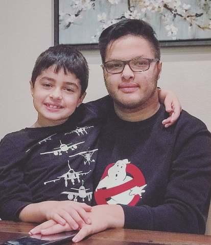 عکس جدید پسران شهاب حسینی