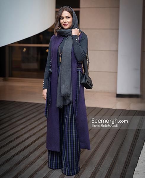 مدل مانتو,مدل مانتو در افتتاحیه جشنواره فیلم فجر,مدل مانتو در افتتاحیه جشنواره فجر 97 - پریناز ایزدیار