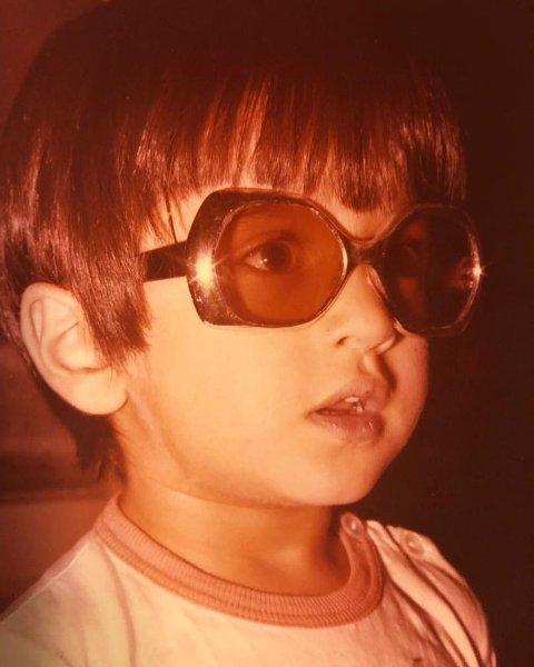 عکس رامبد جوان در کودکی