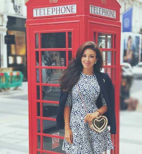 سحر بی نیاز در سفر به لندن
