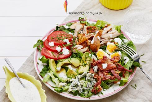 کالری,کالری سوزی,روشهای کالری سوزی روزانه,بهترین روش های کالری سوزی,محدود کردن مقدار سالاد