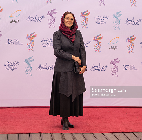 مدل مانتو,مدل مانتو در افتتاحیه جشنواره فیلم فجر,مدل مانتو در افتتاحیه جشنواره فجر 97 - شبنم مقدمی