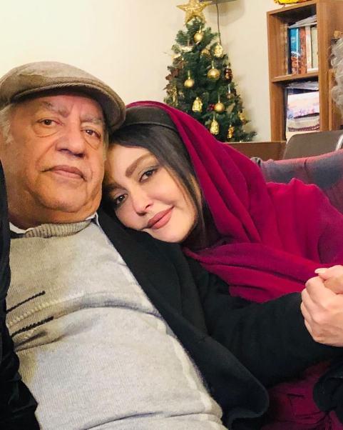 عکس شقایق فراهانی در کنار پدرش بهزاد فراهانی