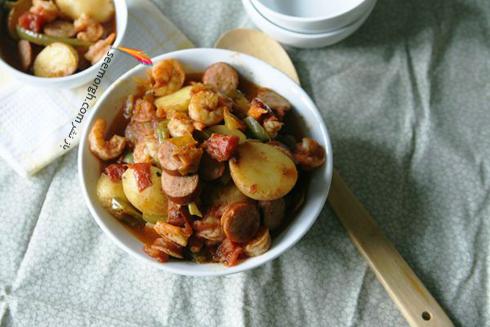خوراک,خوراک سوسیس,خوراک سوسیس و کدو,غذاهای سریع,طرز تهیه غذاهای سریع