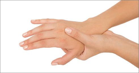 مور مور شدن دست