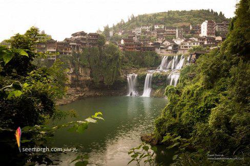 آبشار,چین,شهر آبشارها