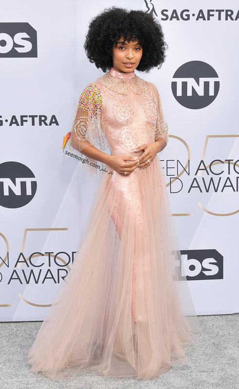 مدل لباس,بهترين مدل لباس,بهترين مدل لباس در SAG Awards 2019 - يارا شهيدي Yara Shahidi