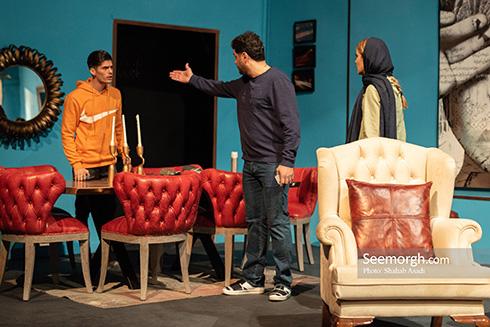 اجرای نمایش 30 دی 95 در در پردیس تئاتر سپند