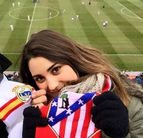 accesnsio - لو رفتن رابطه مخفیانه بازیکن رئال مادرید با دختر طرفدار تیم رقیب! عکس