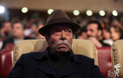 علی نصیریان در سی و هفتمین جشنواره فیلم فجر