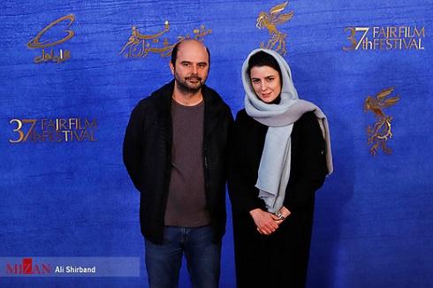 لیلا حاتمی و علی مصفا در جشنواره فجر 97