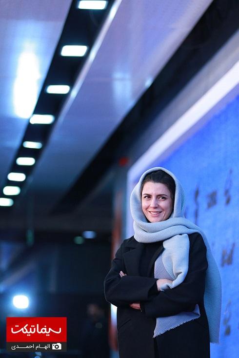 لیلا حاتمی روی فرش قرمز جشنواره فجر 97