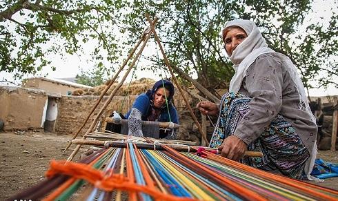 جاجیم بافی از صنایع دستی سنتی استان اردبیل