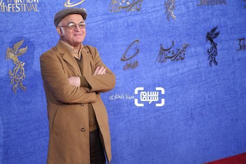 فریدون جیرانی روی فرش قرمز فیلم «آشفته گی» جشنواره فجر 97