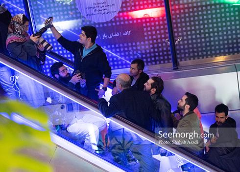 جشنواره فیلم فجر,روز ششم جشنواره,عکس های بازیگران,بهرام رادان