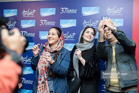 جشنواره فیلم فجر,عکس جشنواره,بهنوش طباطبایی,جواد عزتی,پژمان جمشیدی,پردیس احمدی