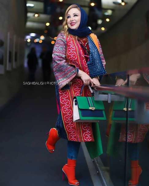 تیپ بهنوش بختیاری در جشنواره فیلم فجر