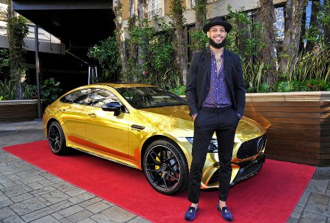 مرسدس بنز طلايي در مراسم اسکار 2019