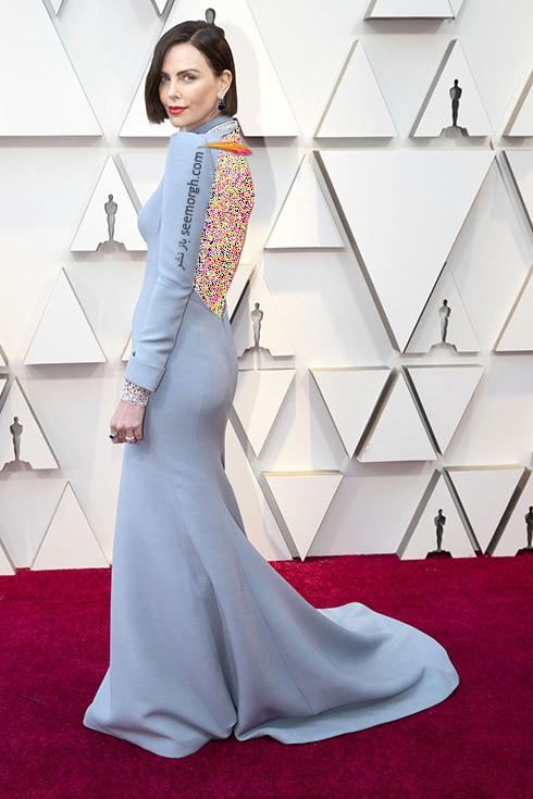 مدل لباس,مدل لباس در اسکار,بهترین مدل لباس,بهترین مدل لباس در اسکار,مدل لباس های برتر در اسکار 2019 شارلیز ترون Charlize Theron