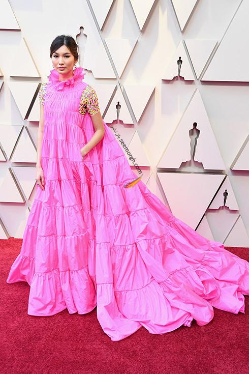 مدل لباس,مدل لباس در اسکار,بهترین مدل لباس,بهترین مدل لباس در اسکار,مدل لباس های برتر در اسکار 2019 گما چان Gemma Chan