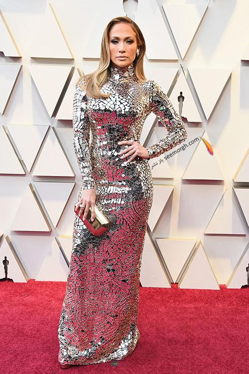 مدل لباس,مدل لباس در اسکار,بهترين مدل لباس,بهترين مدل لباس در اسکار,مدل لباس هاي برتر در اسکار 2019 جنيفر لوپز Jennifer Lopez