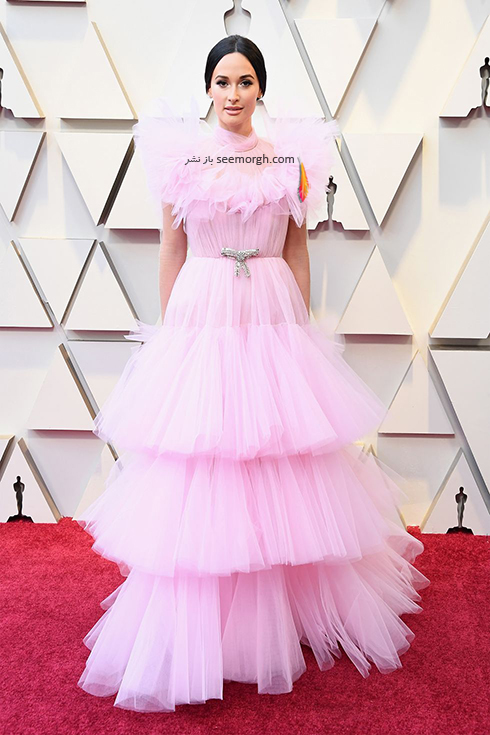 مدل لباس,مدل لباس در اسکار,بهترين مدل لباس,بهترين مدل لباس در اسکار,مدل لباس هاي برتر در اسکار 2019 کيسي موسگراو Kacey Musgrave
