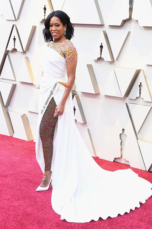 مدل لباس,مدل لباس در اسکار,بهترين مدل لباس,بهترين مدل لباس در اسکار,مدل لباس هاي برتر در اسکار 2019 رجينا کينگ Regina King
