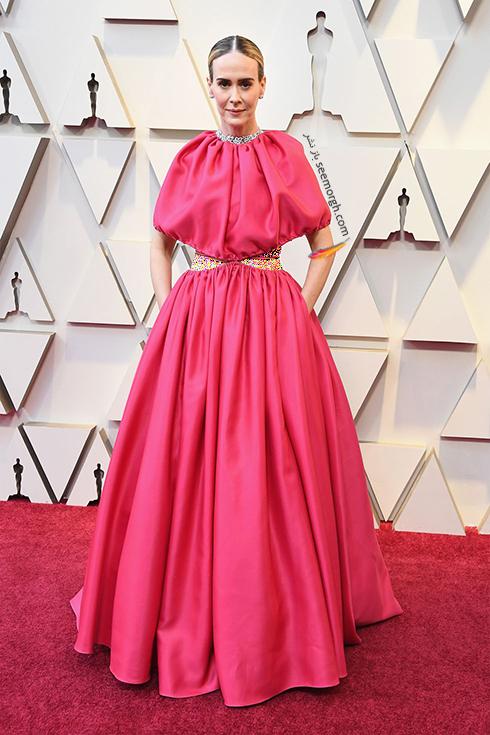 مدل لباس,مدل لباس در اسکار,بهترين مدل لباس,بهترين مدل لباس در اسکار,مدل لباس هاي برتر در اسکار 2019 سارا پالسون Sarah Paulson
