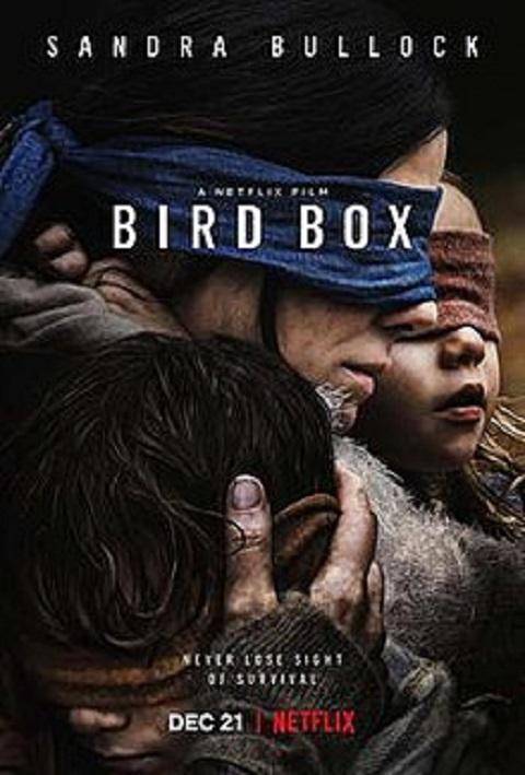 فيلم جعبه پرنده,Bird Box,ساندرا بولاک در جعبه پرنده,نقد فيلم جعبه پرنده,فيلم دلهره آور جعبه پرنده