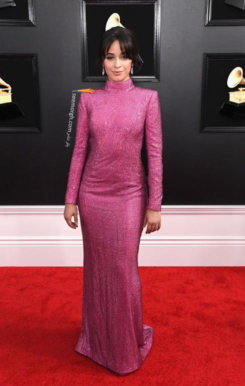 مدل لباس,مدل لباس در جایزه گرمی,جایزه گرمی 2019,مدل لباس در جایزه گرمی 2019,مدل لباس کامیلا کابلو Camila Cabello در جایزه گرمی 2019 Grammy Awards
