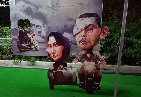 نمایشگاه کاریکاتور بازیگران به بهانه جشنواره فیلم فجر، اثر شهاب جعفرنژاد