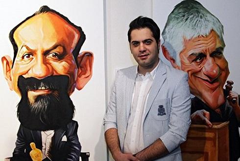 شهاب جعفرنژاد کاریکاتوریست