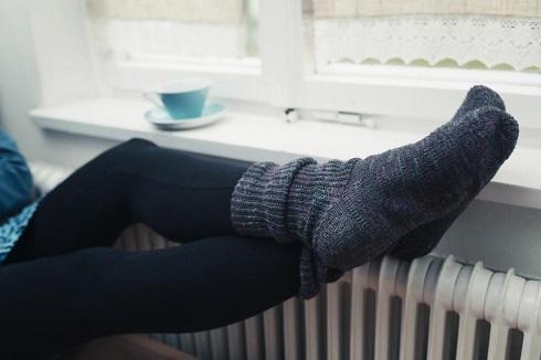 سردي پاها