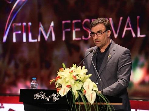 ابراهیم داروغه زاده در سی و هفتمین جشنواره فیلم فجر