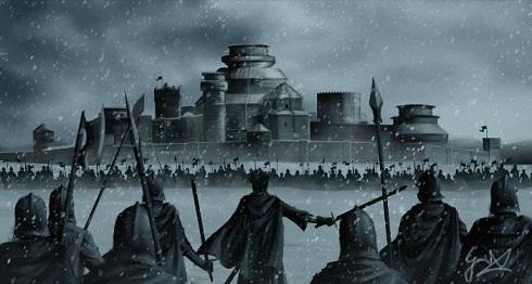 آتش گرفتن قلعه وینترفل در سریال «بازی تاج و تخت»