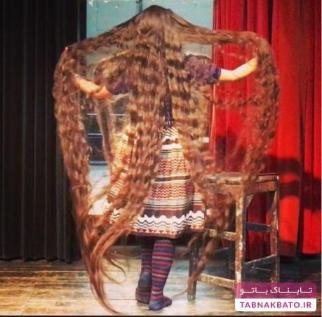 مو های زن 32 ساله