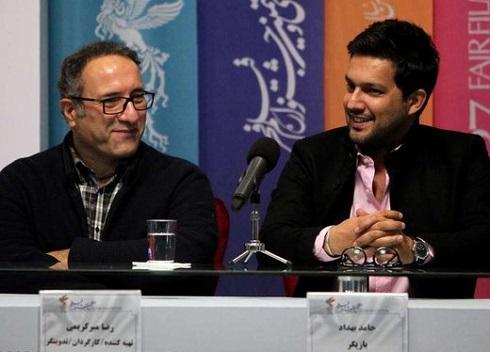 حامد بهداد,حامد بهداد در جشنواره فجر,جشنواره فجر97,حامد بهداد در قصر شیرین,حامد بهداد و رضا میرکریمی