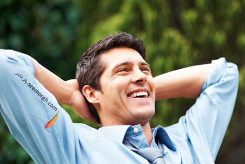 مرد خوشحال