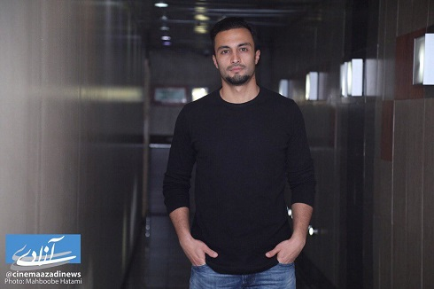 امير جديدي در اکران مردمي فيلم «هت تريک» در پرديس آزادي