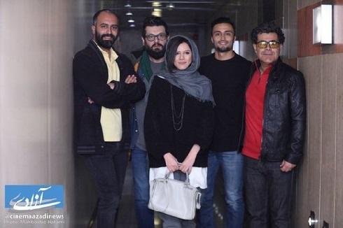 اکران مردمي فيلم سينمايي «هت تريک»