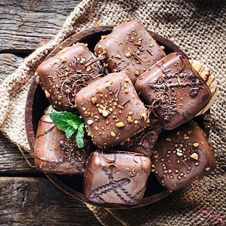 طرز تهیه شکلات مغزدار خانگی,شکلات,شکلات مغزدار,شکلات مغزدار خانگی