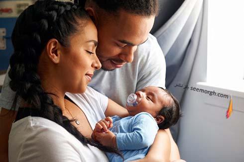 نوزاد و والدين