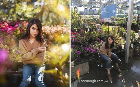 اینستاگرام,عکس های اینستاگرام,پشت صحنه عکاسی,عکاسی حرفه ای,حقه های عکاسی