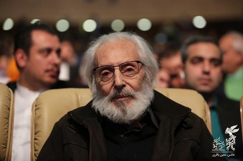 حضور جمشید مشایخی در سی و هفتمین جشنواره فیلم فجر