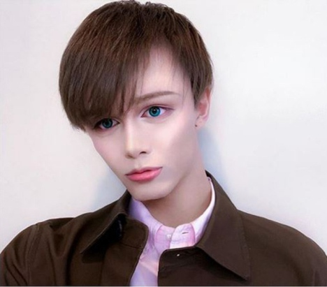 چهره پسر ژاپنی که هیچ شباهتی به ژاپنی ها ندارد