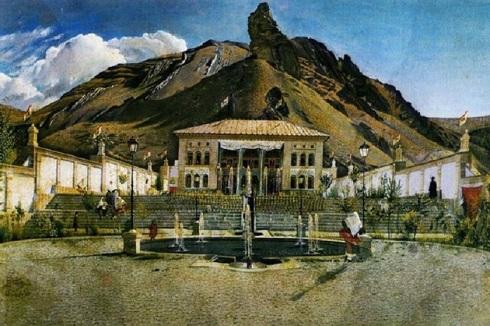 نقاشی کمال الملک از کاخ شهرستانک