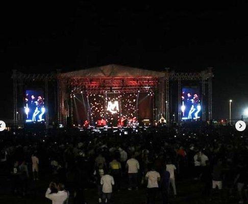 استقبال مردم عربستان از کنسرت ماریا کری