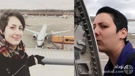 دیدار های دختر 29 ساله با هواپیما مورد علاقه اش